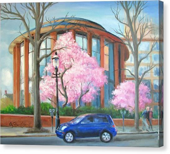 Doylestown Court House Canvas Print