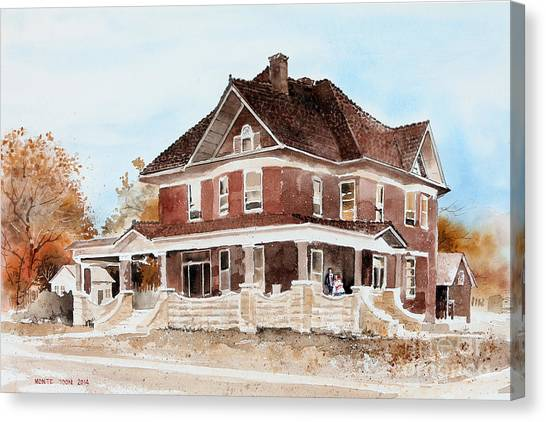 Dr. Hall Residence Canvas Print