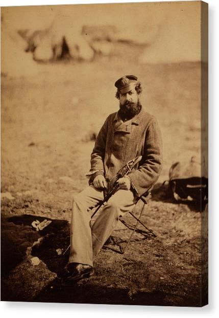 Marlow Canvas Print - Dr. Marlow, 28th Regiment, Crimean War, 1853-1856 by Quint Lox