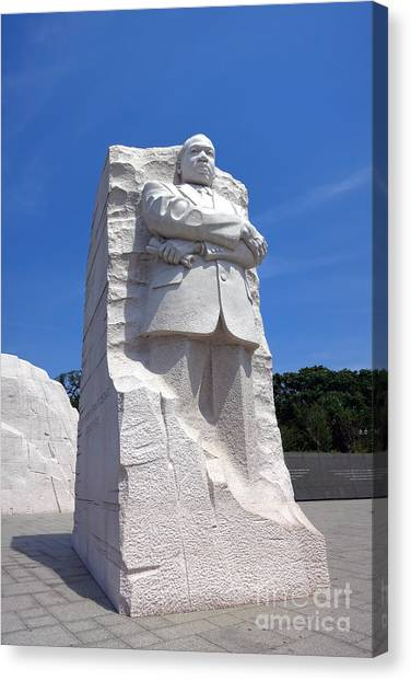 D.c. United Canvas Print - Dr Martin Luther King Memorial by Olivier Le Queinec