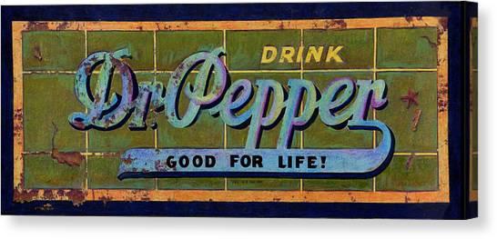 Dr Pepper Canvas Print