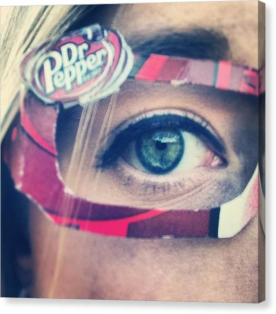 Dr. Pepper Canvas Print - Dr. Pepper Vision by Sara Mattingly