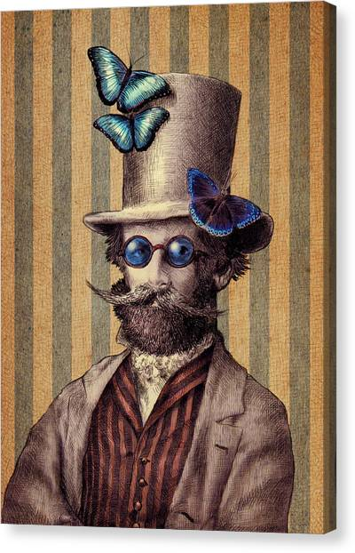 Offices Canvas Print - Dr. Popinjay by Eric Fan
