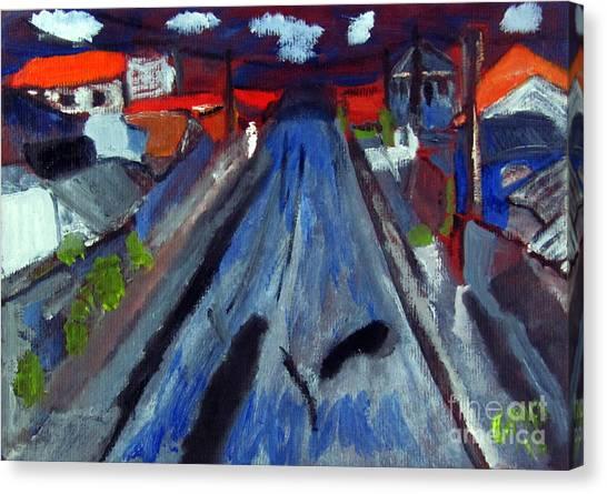 Dr Rafael Robeiro Study 1 Canvas Print by Greg Mason Burns