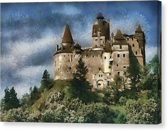 Dracula Castle Romania Canvas Print