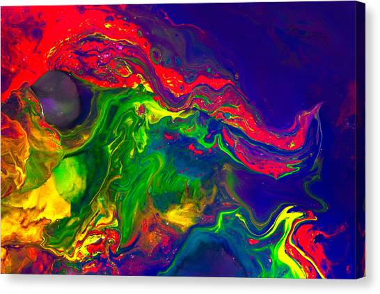 Dragon - Modern Abstract Painting Canvas Print