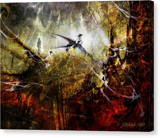 Dragon Realms Canvas Print