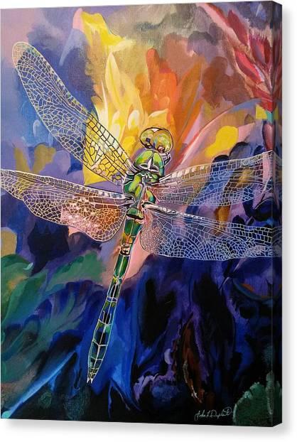 Dragon Summer Canvas Print