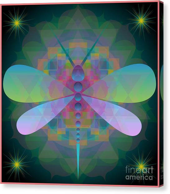 Dragonfly 2013 Canvas Print