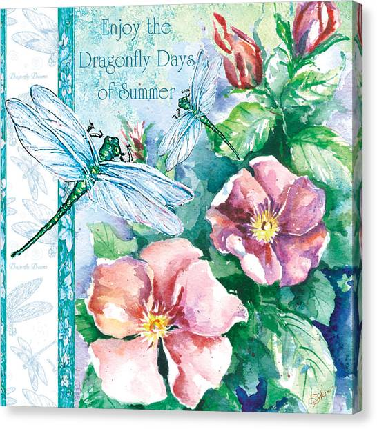 Dragonfly Days Canvas Print