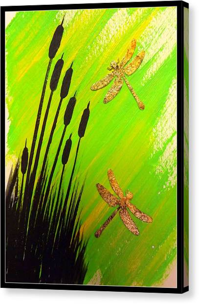 Dragonfly Dreams Canvas Print