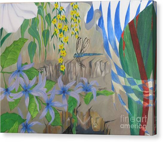 Dragonfly Dreams Canvas Print by Richard Dotson