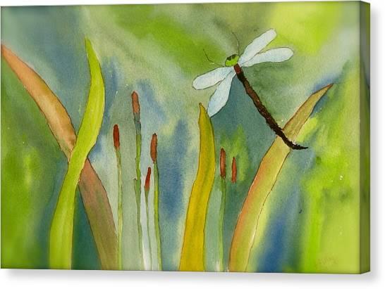 Dragonfly Fantasy Flight Canvas Print