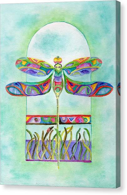 Dragonfly Flight Canvas Print