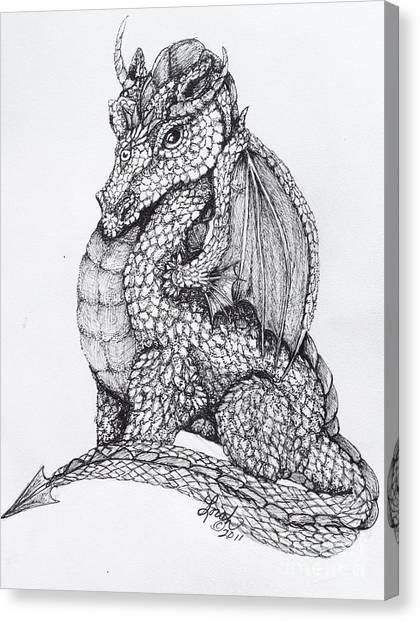 Dragon's Dream Canvas Print