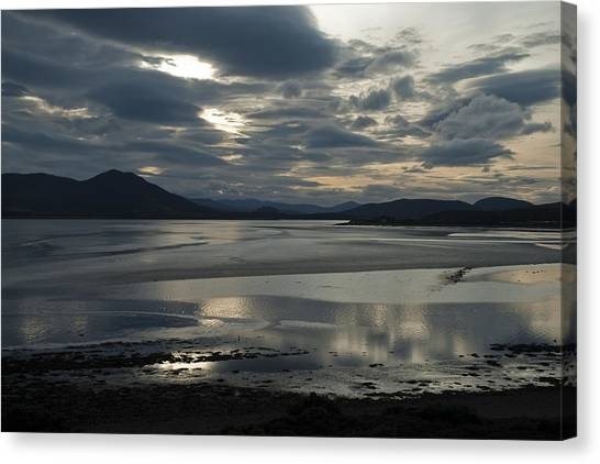 Drama Dornoch Firth Canvas Print