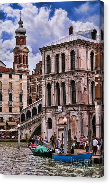 Dramatic Venice Canvas Print