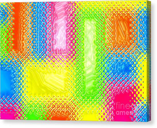 Drastic Plastic Canvas Print