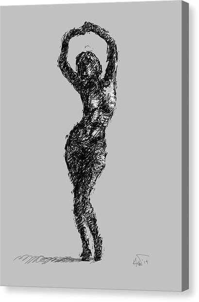 Drawing-02 Canvas Print