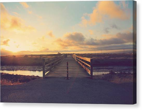 Wetlands Canvas Print - Drawing Nearer by Laurie Search
