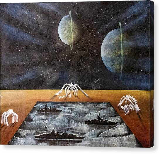 Dream 18 Canvas Print by Cedric Chambers