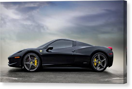 Ferrari Canvas Print - Dream #458 by Douglas Pittman