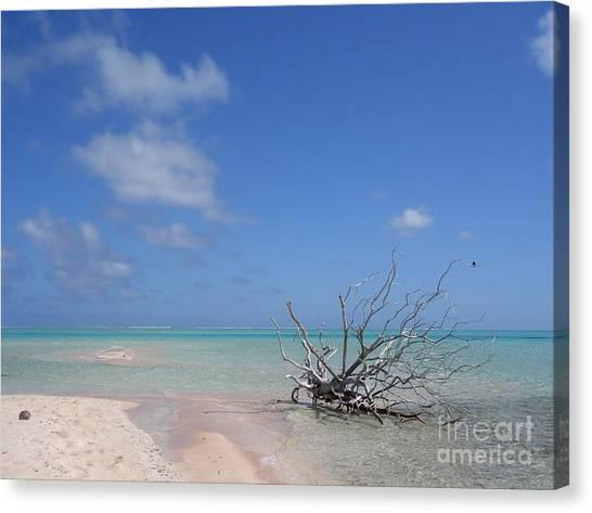 Dream Atoll  Canvas Print
