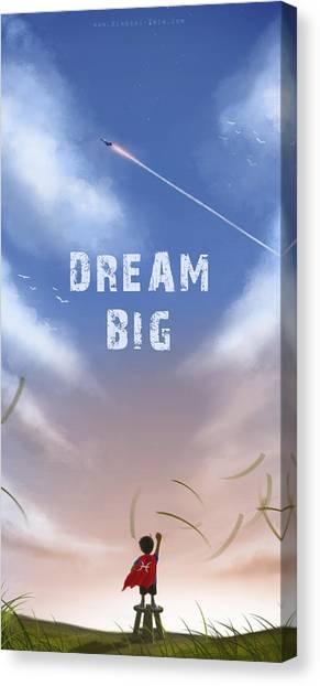 Dream Big Canvas Print by Hiroshi Shih
