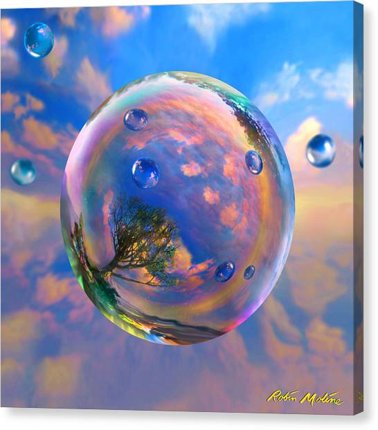 Dream Bubble Canvas Print