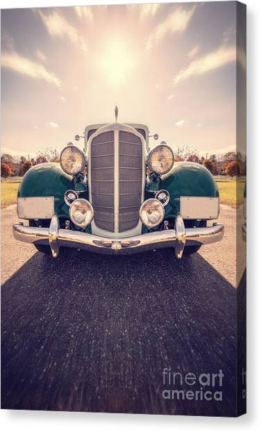Car Canvas Print - Dream Car by Edward Fielding