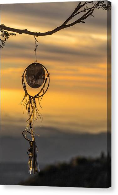 Catchers Canvas Print - Dream Caught by Peter Tellone