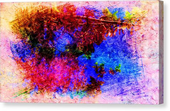 Dream Colors In The Spring Canvas Print