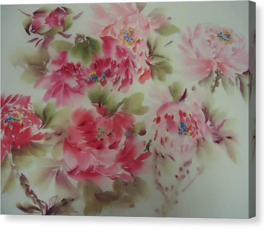 Dream Flower 0725-5 Canvas Print