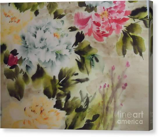 Dream  Flower 0727-4 Canvas Print