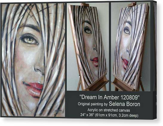 Dream In Amber 120809 Comp Canvas Print
