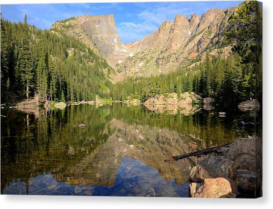 Dream Lake Reflection Canvas Print