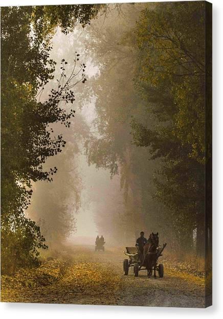Carts Canvas Print - Dream Land by Razvan Lazarescu