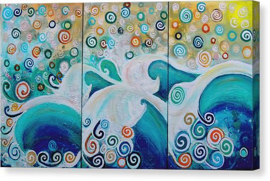 Dream Of The Ocean Canvas Print