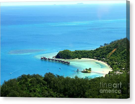 Dream Vacations Canvas Print by Lars Ruecker