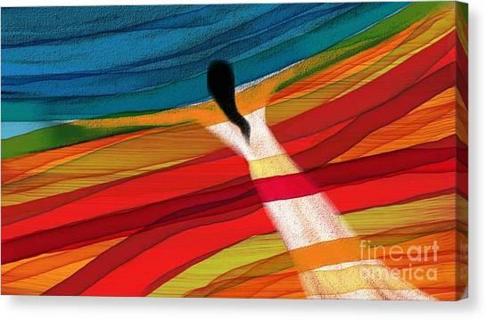 Dream Weaver Canvas Print by Hilda Lechuga