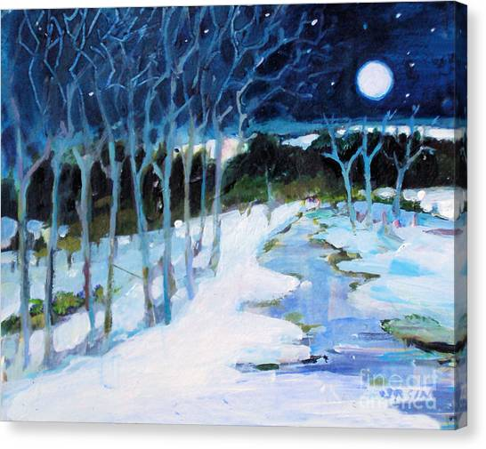 Dream Winter Canvas Print