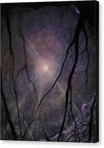 Fantasy Cave Canvas Print - Dream Within A Dream by Kara Norris