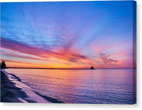 Dreamer's Dawn Canvas Print