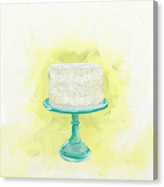 Meals Canvas Print - Dreaming Of Buttercream  by Cathy Walters