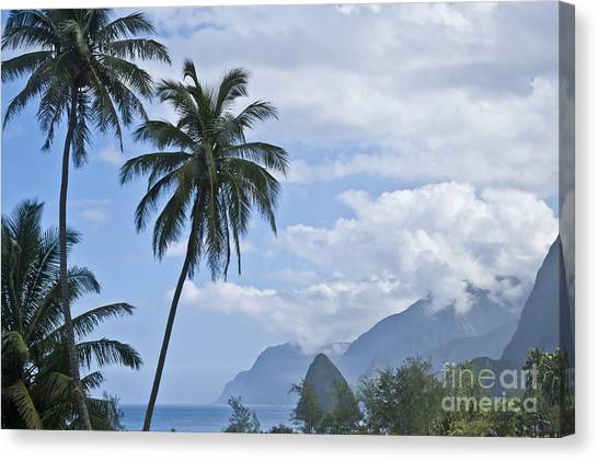 Kalaupapa Cliffs Canvas Print - Dreaming Of Paradise by F Innes - Finesse Fine Art