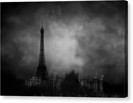 Eiffel Tower Canvas Print - Dreaming Of Paris by Jose C. Lobato
