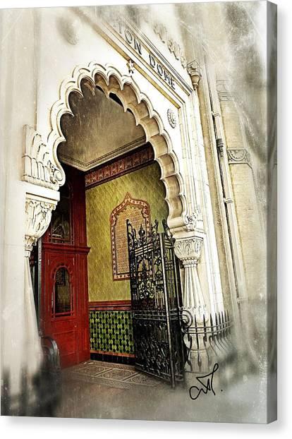 Doorway To Stardom Canvas Print by Connie Handscomb