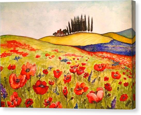 Dreaming Of Tuscany Canvas Print