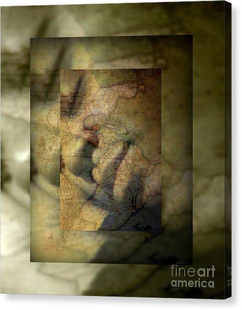 Dreaming Of What Could Be Isn't Meant To Be Canvas Print by Fania Simon