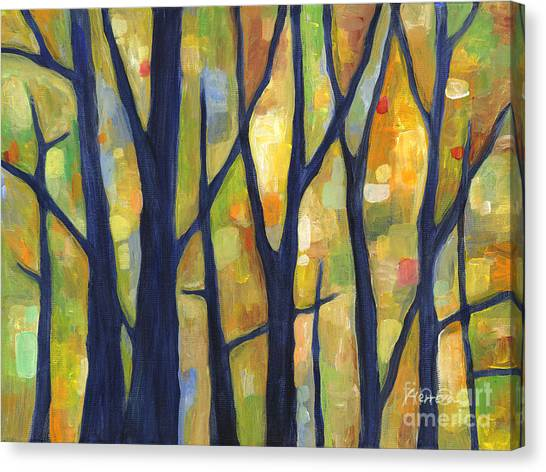 Tree Canvas Print - Dreaming Trees 2 by Hailey E Herrera